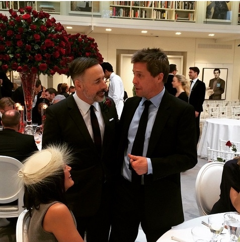 David Furnish, Hugh Grant