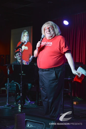 Bruce Vilanch with Gregory Nabours