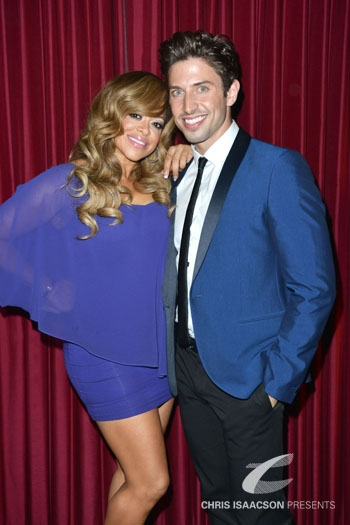 Nick Adams and Stacy Francis