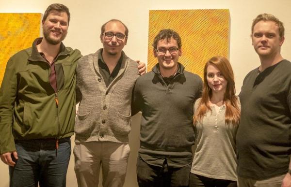 Ian Mead Moore (actor), Travis Stuebing (actor), Montgomery Sutton (playwright), Marla Jo Kelly (actor), Ian Ferguson (actor)