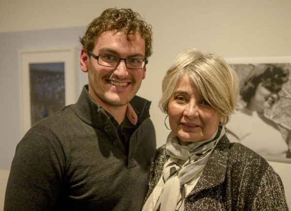 Montgomery Sutton (playwright) and Ruth Cantrell (director)