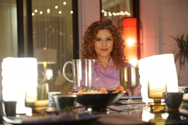 "GIRLFRIENDS' GUIDE TO DIVORCE -- ""Rule #21: Leave Childishness to Children"" Episode 105 -- Pictured: Bernadette Peters as Annie -- (Photo by: Sergei Bachlakov/Bravo)"