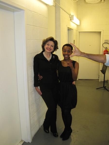 Alison Fraser and Miriai Sithole