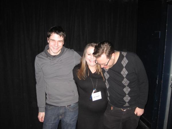 Mac Smith, Cori Gardner and Nate Claus