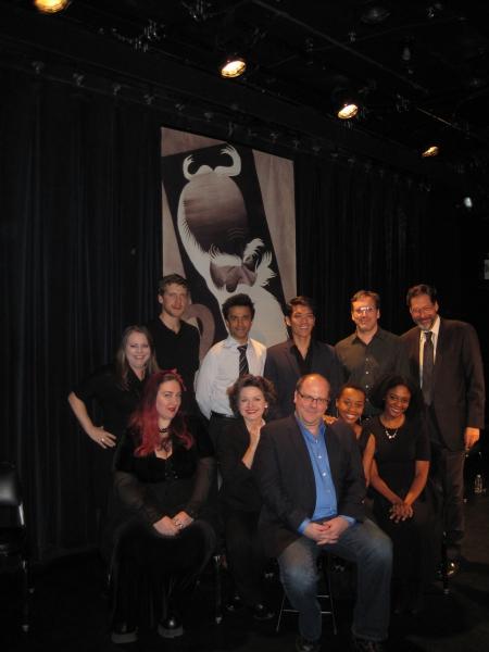 OTHERLAND Cast with Cori Gardner, David Cote and David Staller Photo