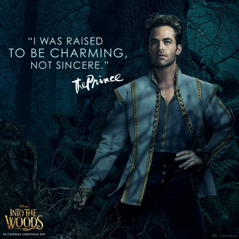 Image result for into the woods chris pine
