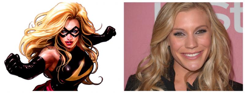 Despite Rumors, Katee Sackhoff Will Not Appear in AVENGERS 2 as Ms. Marvel