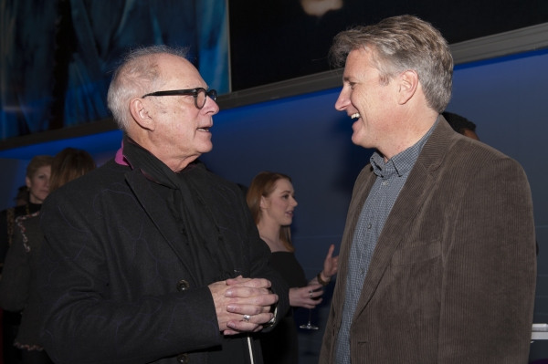 Barry Levinson and Eric Schaeffer Photo