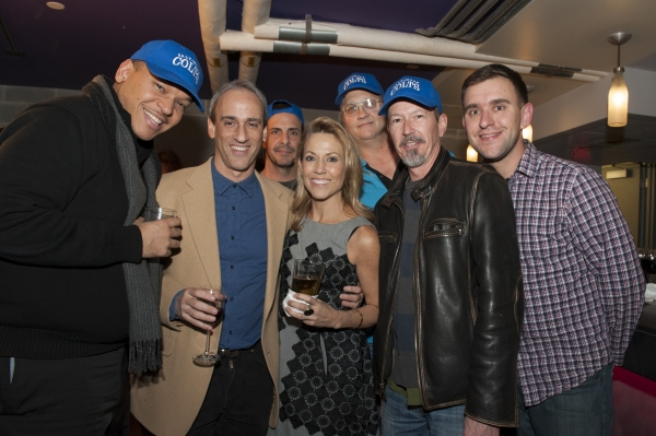 Lon Hoyt (Musical Director) and Sheryl Crow with the band of DINER