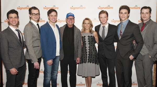 Adam Kantor (Eddie), Josh Grisetti (Shrevie), Aaron C. Finley (Billy), Barry Levinson, Sheryl Crow, Matthew James Thomas (Fenwick), Derek Klena (Boogie), and Bryan Fenkart (Modell)