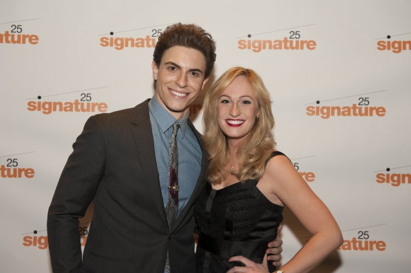 Derek Klena (Boogie) and Colleen Hayes (Carol Heathrow)