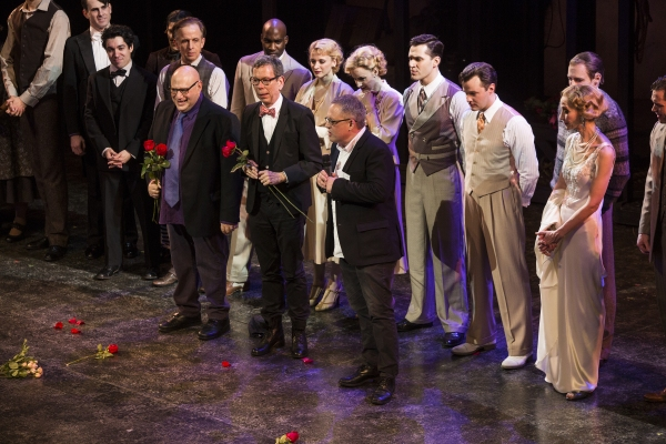 "Henry Krieger, Bill Russell, Bill Condon and the Cast of ""Side Show"""