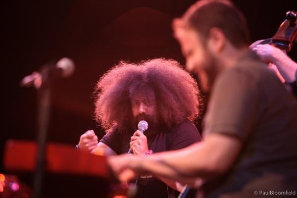 Reggie Watts, creator and performer of Audio Abramović