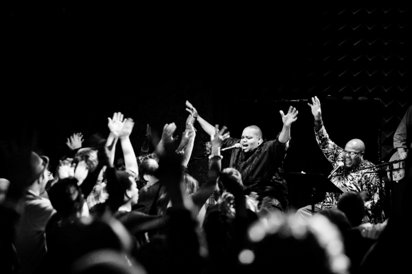 Toshi Reagon, creator and performer of Octavia E. Butler's Parable of the Sower: The Concert Version