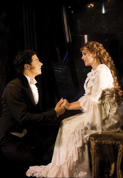 Liam Tamne and Harriet Jones
