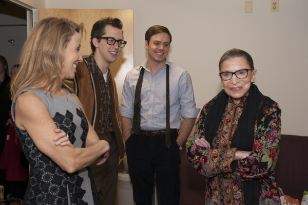 Sheryl Crow, Josh Grisetti, Aaron C. Finley and Justice Ruth Bader Ginsburg