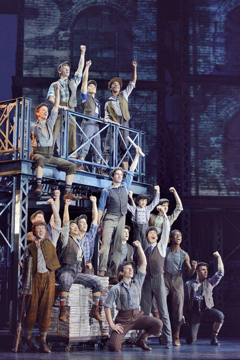 BWW Reviews: NEWSIES Brings High Energy to Belk Theater