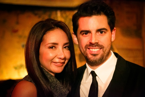 Tony DeSare and his wife