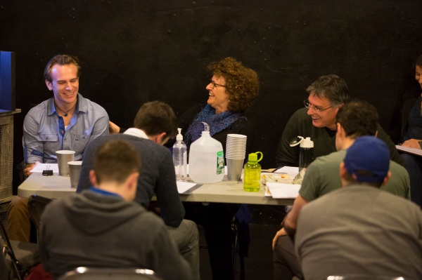 Photo Flash: In Rehearsal with Robert Cuccioli and More for Off-Broadway's SNOW ORCHID