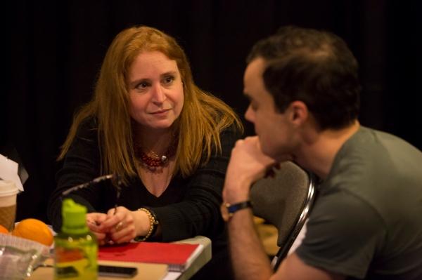 Director Valentina Fratti, Stephen Plunkett
