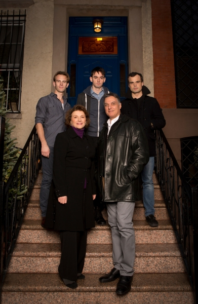 Front row (left to right): Angelina Fiordellisi, Robert Cuccioli; Back row (left to right): Timothy Hassler, David McElwee, Stephen Plunkett