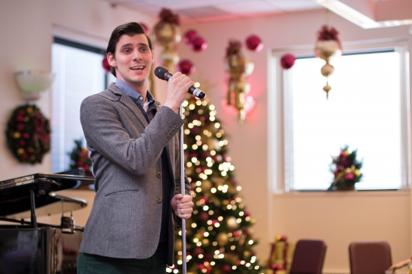 Photo Flash: CINDERELLA Cast Brings Holiday Cheer With Sing For Your Seniors
