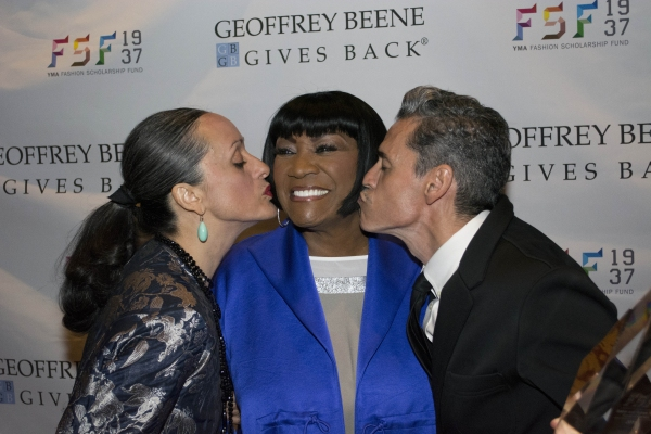 ISABEL TOLEDO, PATTI LABELLE, RUBEN TOLEDO Photo