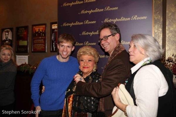 Hunter Ryan Herdlicka, Marilyn Maye, Mark Sendroff, Tyne Daly