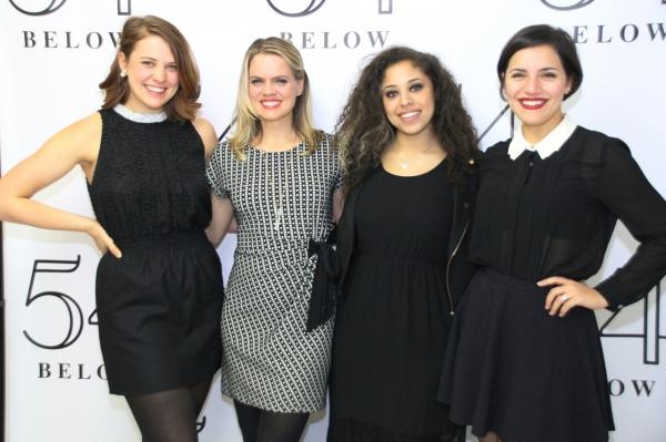 Rachael Duddy, Amy Spanger, Tatiana Wechler, Alexandra Milak