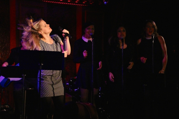 Amy Spanger, Alexandra Milak, Tatiana Wechler, Rachael Duddy Photo