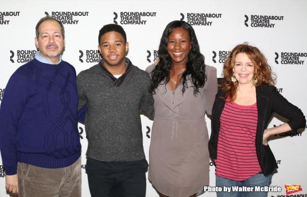 Gilbert Cruz, Chris Myers, Crystal Lucas-Perry and Deirdre O'Connell  Photo