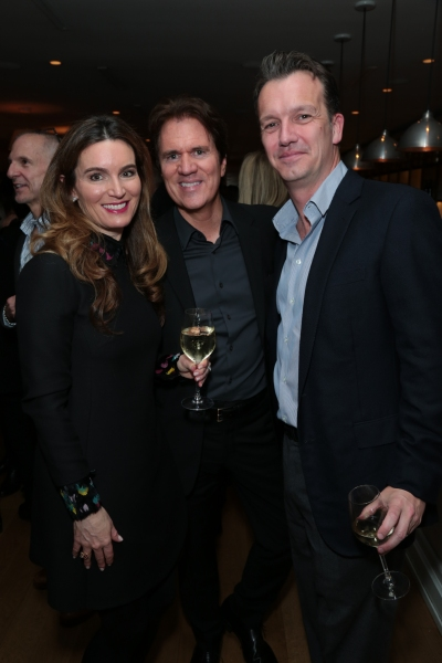 Charmaine Bailey, Rob Marshall and Sean Bailey arrive as Disney celebrates their 2015 Golden Globes nominees from Into the Woods, Big Hero 6, and The Hundred-Foot Journey in Los Angeles, California on Saturday, January 10, 2015. (Photo: Alex J. Berliner/A