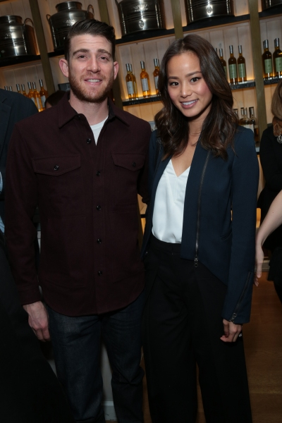 Bryan Greenberg and Jamie Chung arrive as Disney celebrates their 2015 Golden Globes nominees from Into the Woods, Big Hero 6, and The Hundred-Foot Journey in Los Angeles, California on Saturday, January 10, 2015. (Photo: Alex J. Berliner/ABImages)