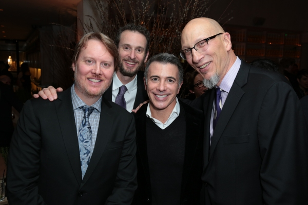 Don Hall, Chris Williams, Ricky Strauss and Roy Conli arrive as Disney celebrates their 2015 Golden Globes nominees from Into the Woods, Big Hero 6, and The Hundred-Foot Journey in Los Angeles, California on Saturday, January 10, 2015. (Photo: Alex J. Ber