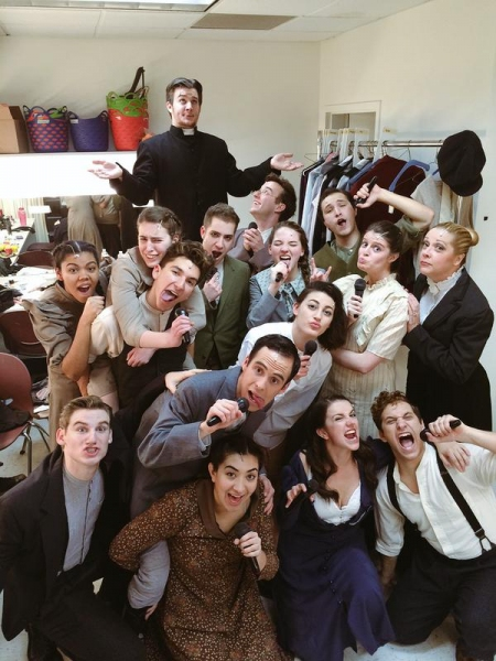 Photo Flash: Saturday Intermission Pics - Jan. 10 Part 2- ROCK OF AGES, BOOK OF MORMON, SISTER ACT, and More!