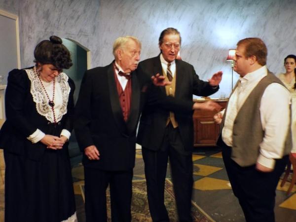 Marianne Krahulec, Charles Smith, Nick Hughes, and Keith Bowerman