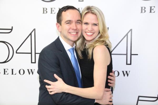 Benjamin Rauhala and Lauren Kennedy