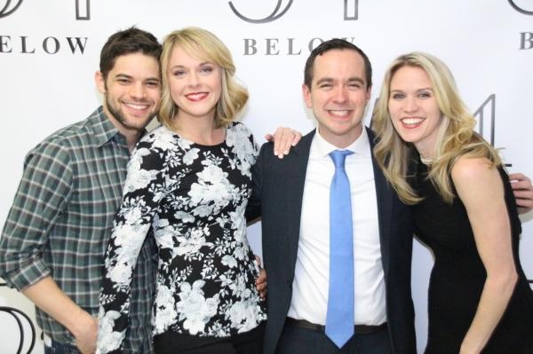 Jeremy Jordan, Ashley Spencer, Benjamin Rauhala, and Lauren Kennedy