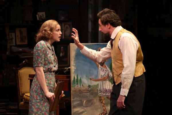 Anna Chlumsky and Reg Rogers