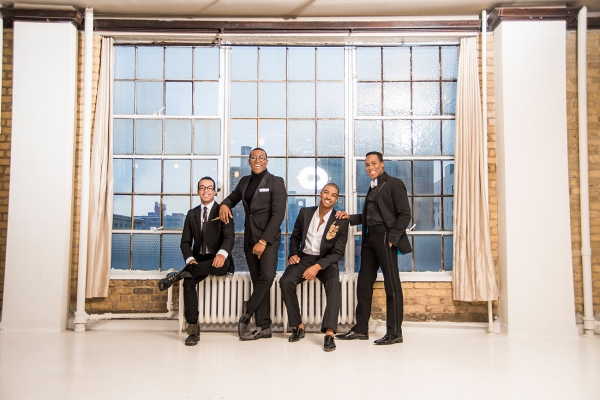 JOEY STONE, ELIJAH AHMAD LEWIS, CHRISTIAN DANTE WHITE and RASHAD NAYLOR Photo