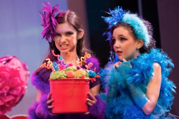 Jasmine Sanchez and Priscila Kligerman as The Bird Girls