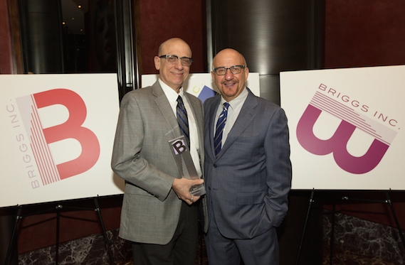 Tom Viola, Executive Director, BC/EFA; Anthony Napoli, President of Briggs, Inc., January 12, 2015