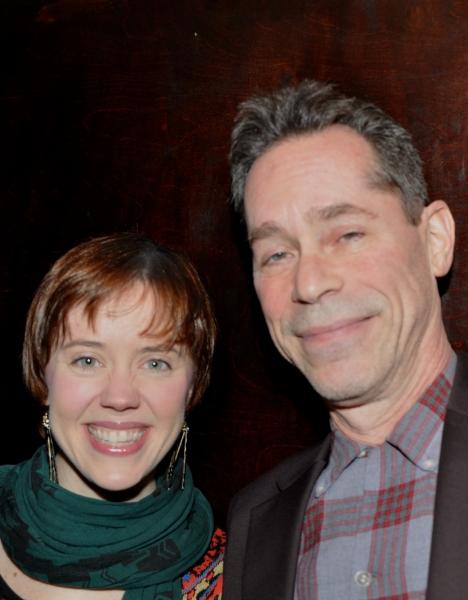 Carole J. Bufford and Ian Herman (Musical Director)