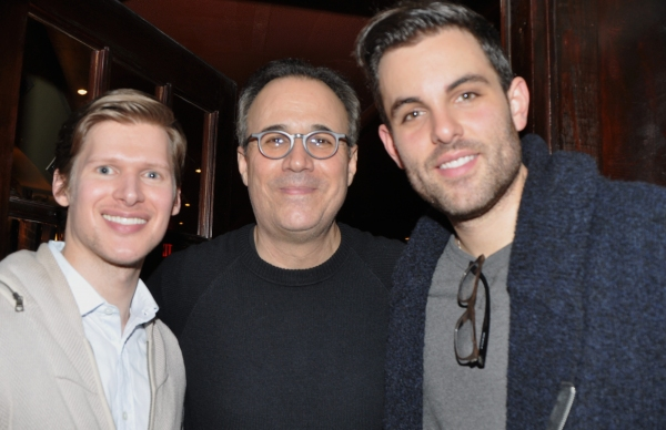 Lucas Steel, John Bucchino and Zak Resnick
