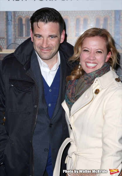 Colin Donnell and Patti Murin