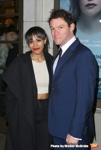 Nicolette Robinson and Dominic West
