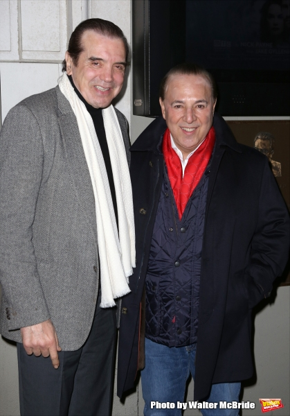 Chazz Palminteri and Tommy Mottola