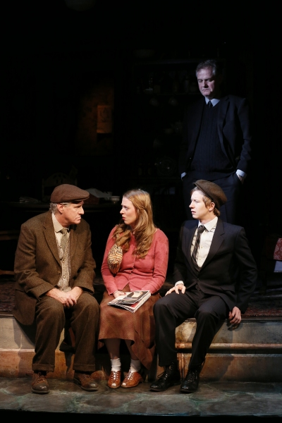 Paul O'Brien, Nicola Murphy, Adam Petherbridge, with Ciaran O'Reilly (in the background)