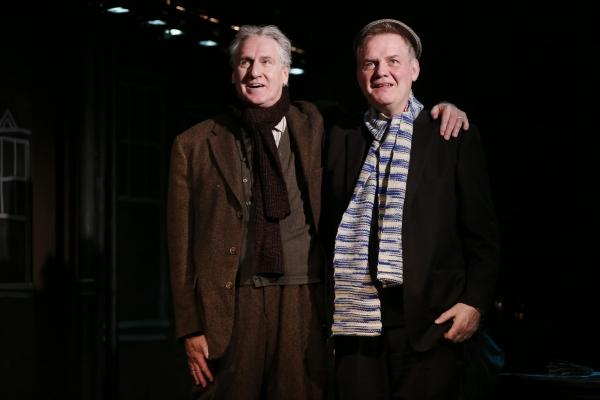 Paul O'Brien and Ciaran O'Reilly