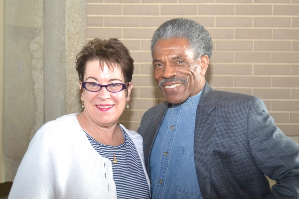 Artistic Director Molly Smith and cast member Andre De Shields